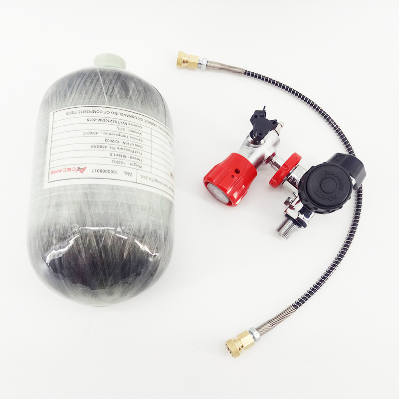 Image 5 - AC520211 300BAR композитного углеродного волокна/Пейнтбол/гПа/подводное/оборудование для дайвинга/цилиндров/майка 2L для насос PCP воздуха пистолет/винтовка/кондер-in Пейнтбольные аксессуары from Спорт и развлечения
