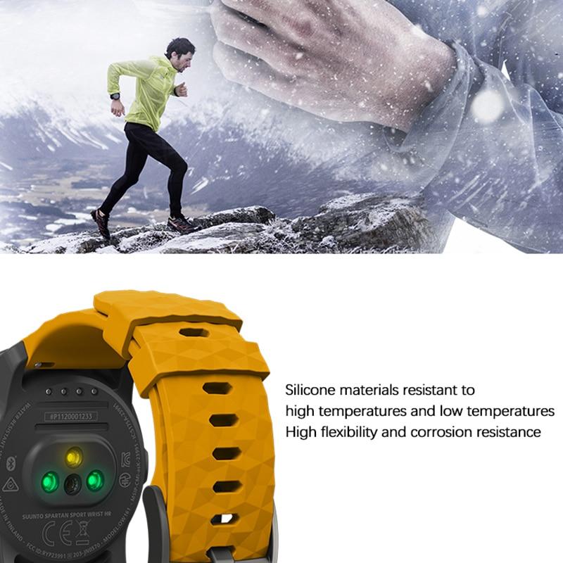 Купить спортивный силиконовый ремешок для suunto spartan спортивный