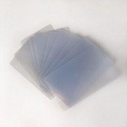 Carte d'identité transparente de PVC d'affaires de jet d'encre de double côtés en plastique vierges pour des imprimantes à jet d'encre d'epson/Canon 230 pièces