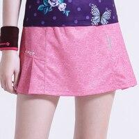 2019 summer tennis badminton skort ladies running sports skirt with pocket security safety pants skirt solid