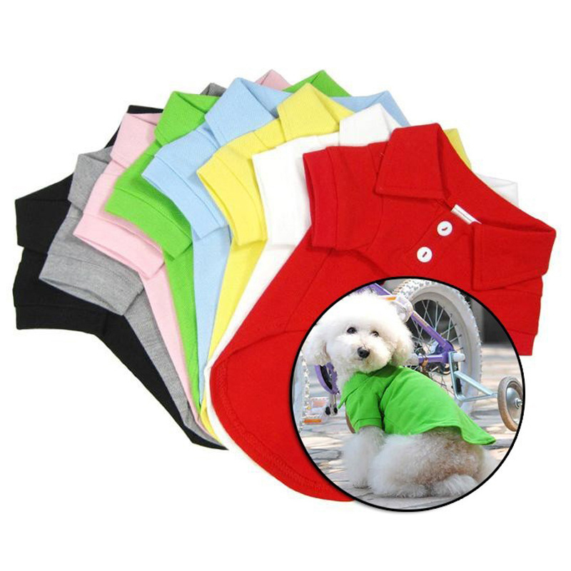 Dog Apparel Vest For Dogs T-Shirts Dog Clothes Summer Fashion Pet Clothes Coat Dog T-Shirt Tee Shirt Pet Clothing Pets