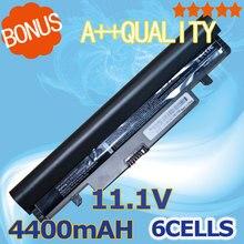 Bateria do Laptop Preto para Samsung 4400 MAH N143 N145p N148 N150 N250 N260 Aa-pb2vc3b Aa-pb2vc3w Aa-aa-pb2vc6b Pb2vc6w