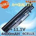 4400 mah negro batería del ordenador portátil para samsung n143 n145p n148 n150 n250 n260 aa-pb2vc3b aa-pb2vc3w aa-pb2vc6b aa-pb2vc6w