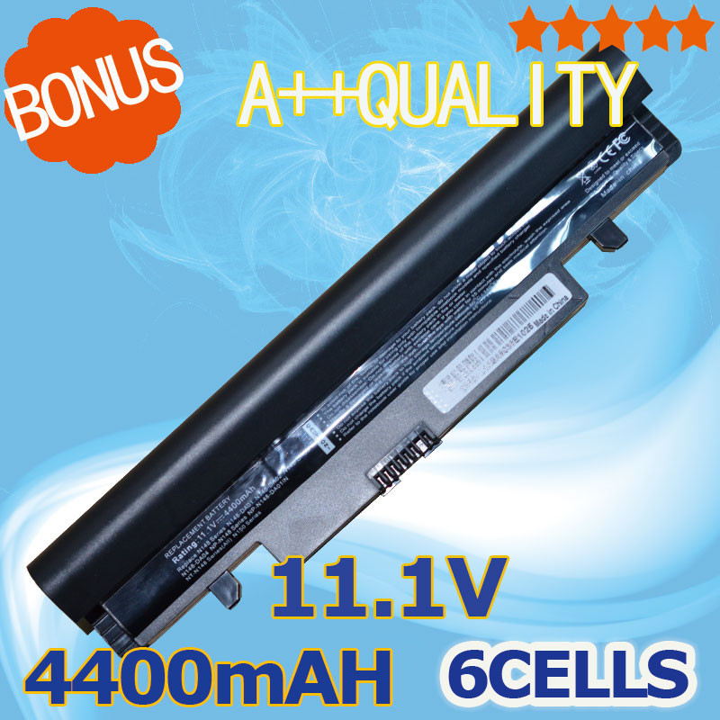 4400mAh Black laptop Battery For Samsung N143 N145P N148 N150 N250 N260 AA PB2VC3B AA PB2VC3W