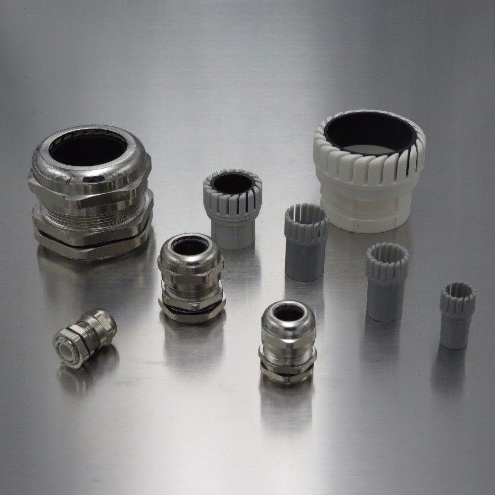 JRing Presse-/étoupes,Lot de 10 presse-/étoupes /étanches en plastique M20 x 1,5 IP68,Noir
