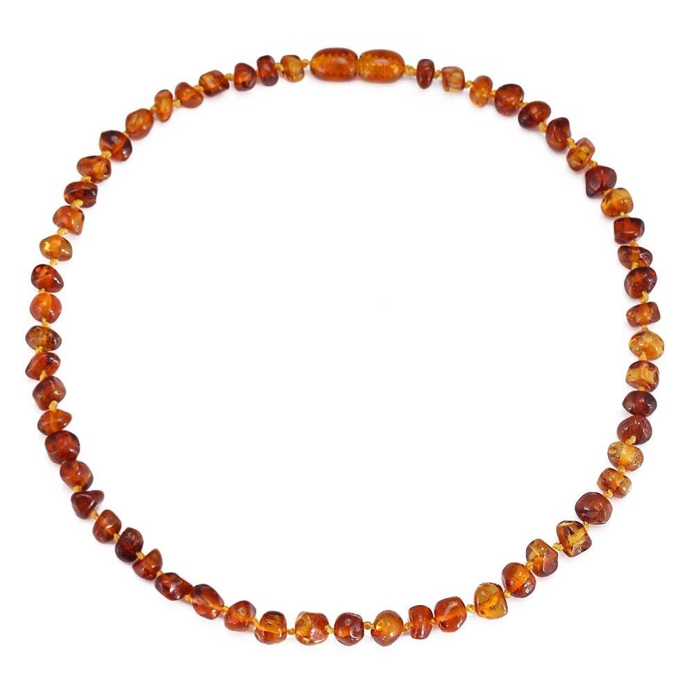 Collier/Bracelet de dentition en ambre de la baltique pour bébé-emballage Simple-7 tailles-10 couleurs-testé en laboratoire