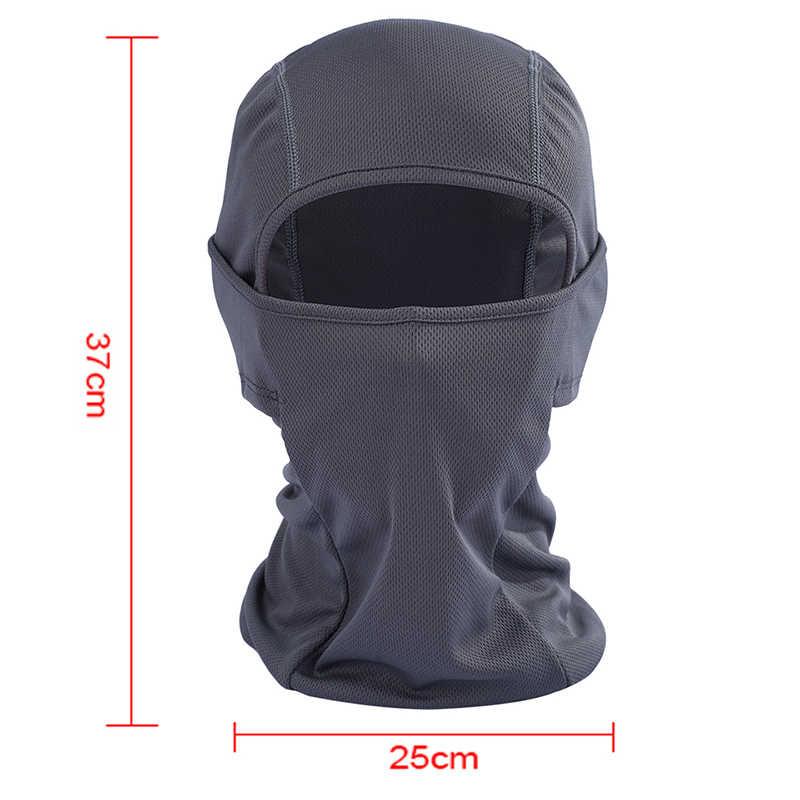 Zima motocykl pełna narciarstwo maska cieplej wiatroszczelna oddychająca przeciwpyłowa maska snowboardowa czapki rowerowe czapka kominiarka szalik