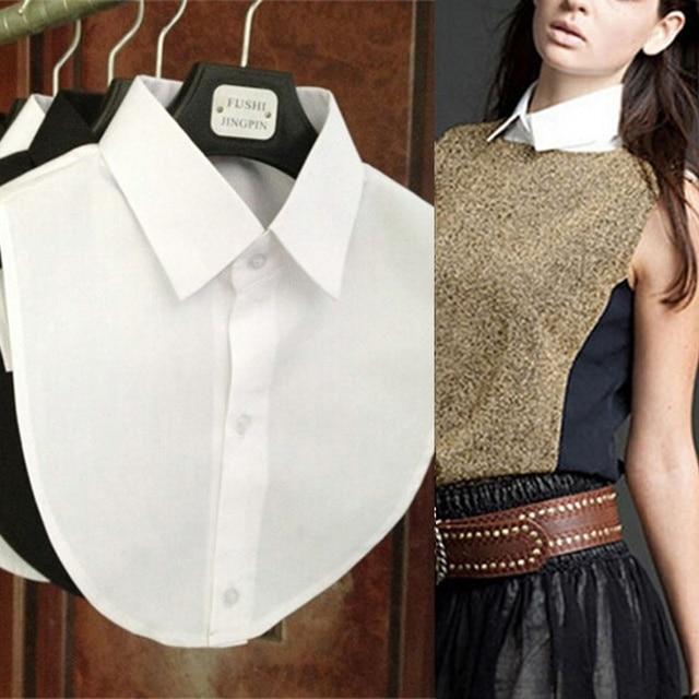 Hot Sale Clothes Accessories False Collar White & Black Blouse Detachable Collars Women Men Clothing Accessories