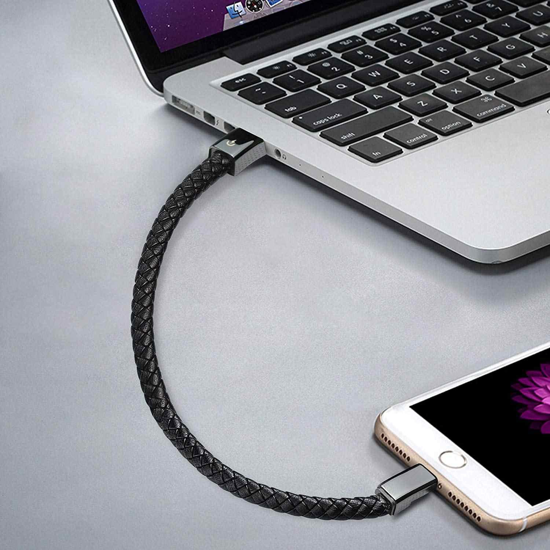 נסיעות מהיר USB טלפון מטענים צמיד מטען נתונים טעינת כבל סנכרון כבל עבור Samsug S8 S9 צמיד גברים פלדה מגנטי אבזם