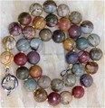 """Ювелирные изделия своими руками ручной работы бусины AAA естественная 10 мм многоцветный пикассо яшма ожерелье 18 """" JT5171"""