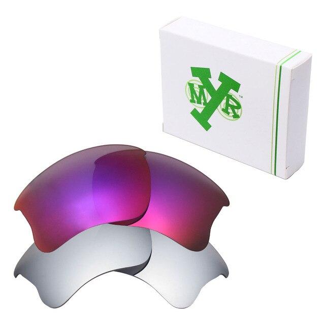 2 Pairs MRY ПОЛЯРИЗОВАННЫЕ на Замену Линзы для Бронежилет Xlj Солнцезащитные Очки Oakley Серебра Титана и Midnight Sun
