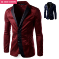 Real Regular Terno Masculino New Fashion Casual Blazer Men Slim Fit Jacket Masculine Coat Button Suit Formal Suits ,gx399