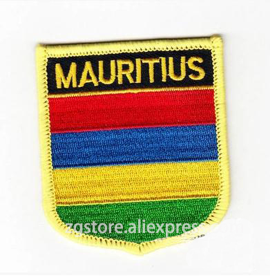 Mauritius National Flag Iron On T-Shirt Transfer Print