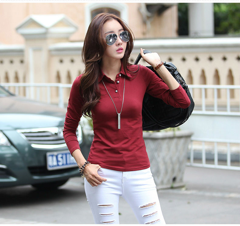 2 polo shirt women