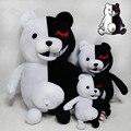1pc Dangan Ronpa Monokuma Doll Plush Toys Black & White Bear Pink & White Rabbit Top Quality 35cm