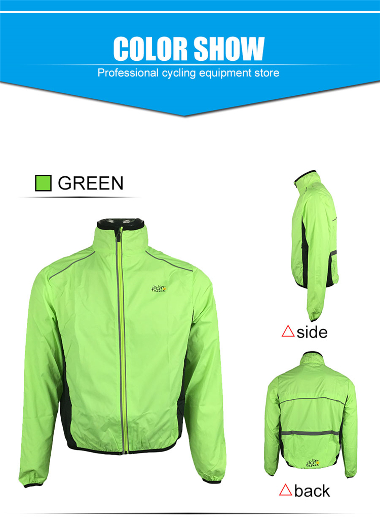 4 BESTGIA Hot Selling Ultra-light Tour De France Bicycle Jacket Bike Windproof Raincoat Road Track MTB Aero Cycling Wind Coat Men Clothing