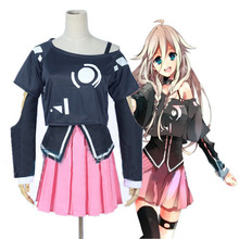Free Shipping Vocaloid 3 Library IA cosplay costume Handmade Custom New