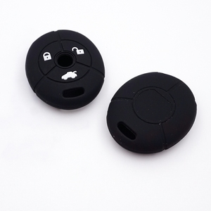 Image 2 - Cocolockey Silicone Car Key Cover Fit for MG Rover 25 35 ZT 3Buttons Remote Key Rubber Car Key Case Car Styling