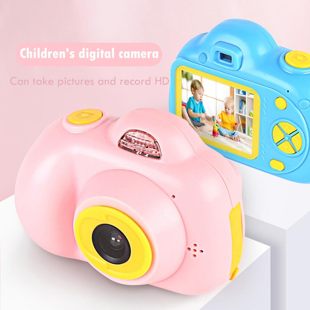 Kids Mini SD Card Electronic Cameras Toy Children Mini Digital 32G 2.0 Inches Fixed Lens 100 Degree Photo Camera Educational Toy