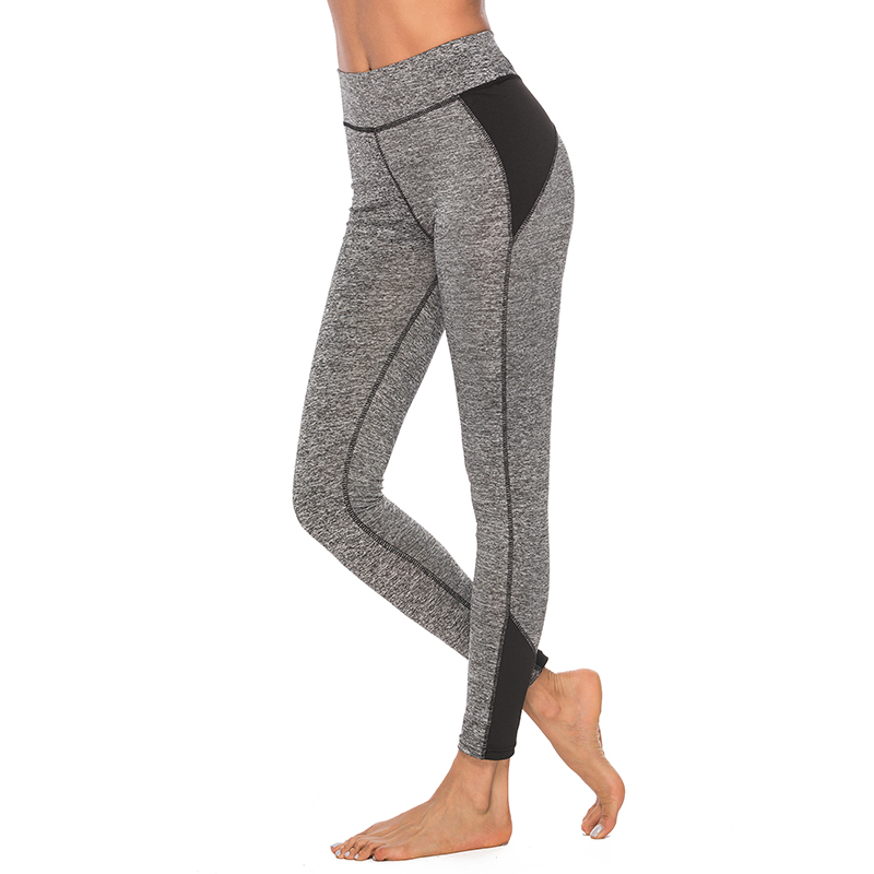 2018 Sport Leggings High Waist Fitness Leggings Fitness Running Leggings Bodybuilding Kläder Body Shapers Sexiga Yoga Leggings