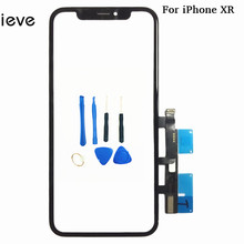 Great Quality Touch Screen Digitizer Panel Repair Parts with Frame for iPhone XR xr Touchscreen Front Glass Lens Sensor srjtek 7 for prestigio multipad wize 3797 3g pmt3797 touch screen digitizer glass sensor panel pb70a2616 touchscreen repair