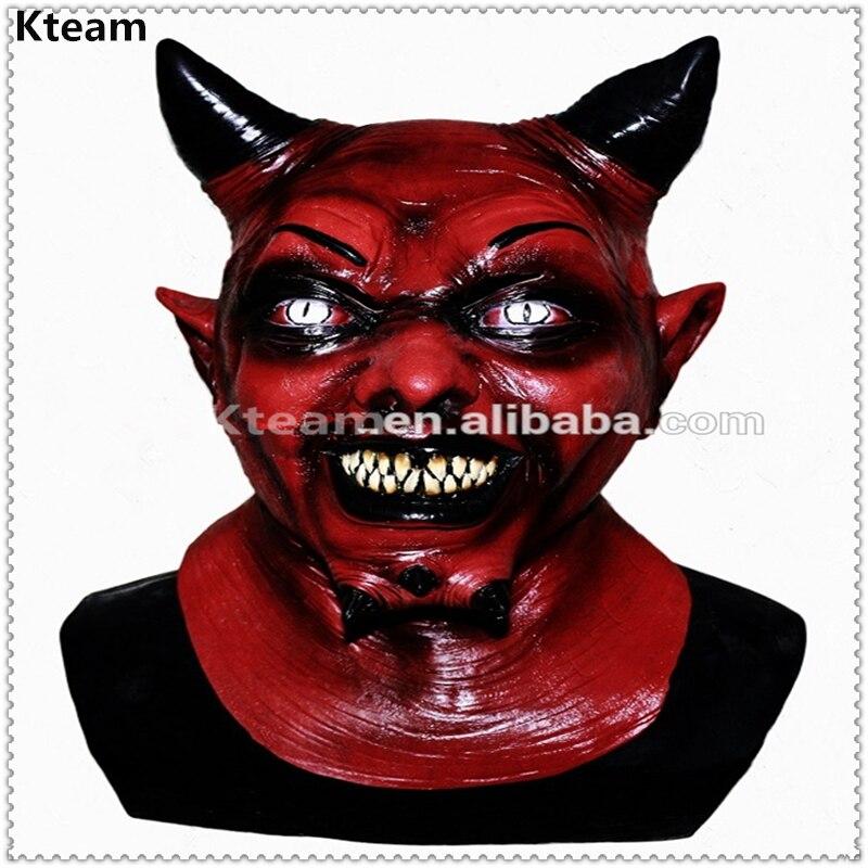 Top Grade Halloween Party Coplay Horror Red Horn Uzzath