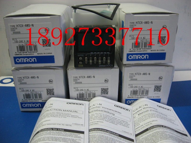 [ZOB] Supply of new original Omron omron digital counter H7CX-AWS-N relay