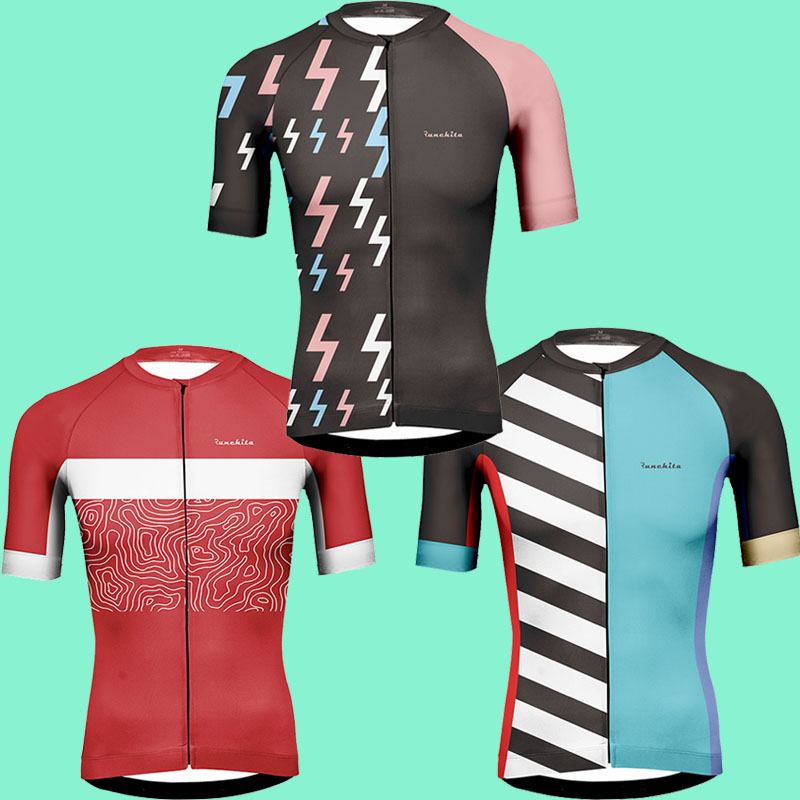 Cycling jersey Runchita 2019 summer Road race mtb jersey short sleeve go pro  Breathable Anti- 39fff926e