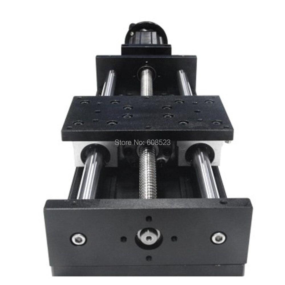 Sliding Table CNC Linear Motion Linear Slide System Travel Length 500mm SFU1605 Ball Screw+Nema23 Step Motor