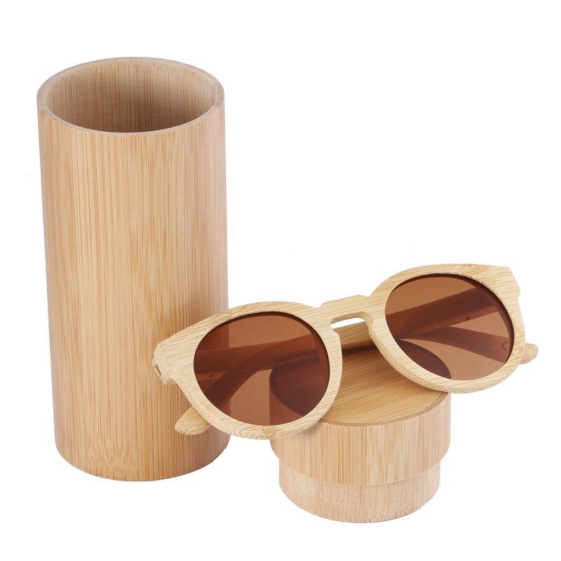 BerWer Hommes lunettes de Soleil lunettes de Soleil En Bambou À La Main En  Bois Cadre Polarisées Miroir Objectif Lunettes de soleil UV400 c02953532d92