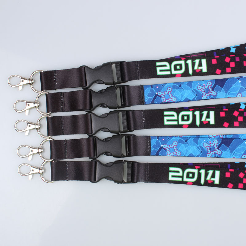Image 5 - 100pcs/lot DHL free shiping Customized lanyard 20mm wide sublimation polyester lanyard with release buckle,Custom lanyards-in Mobile Phone Straps from Cellphones & Telecommunications
