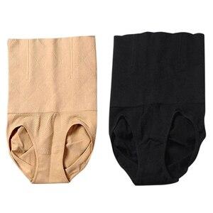 Image 1 - Vrouwen Hoge Taille Shapewear Naadloze Tummy Controle Body Shaper Panty Tummy Slips