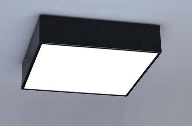 Moderne bureau led plafond éclairage lampes carré chambre salon s