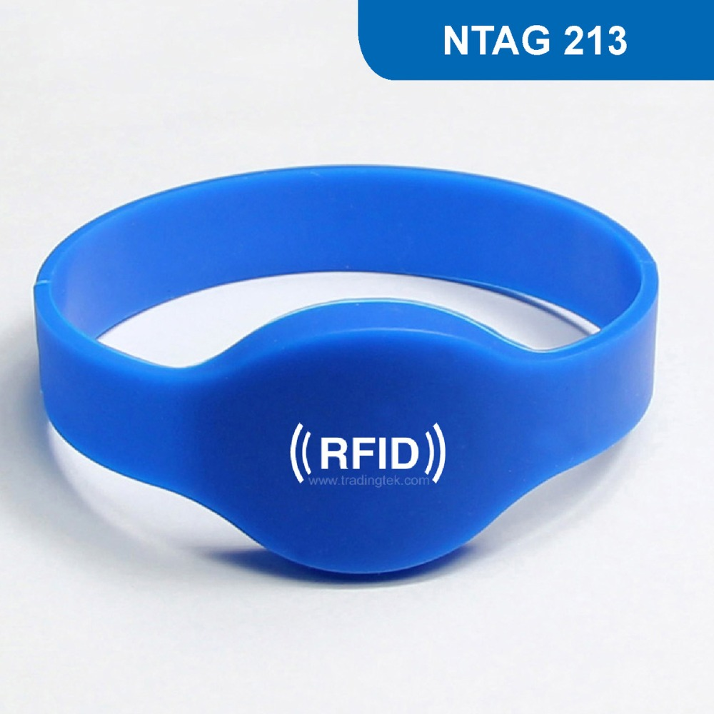 WB01 Silicone RFID Wristband for Access Control NFC Bracelet for Mobile Phone 144BYTES ISO14443A 13.56MHz with NTAG 213 Chip wb01 hot sales silicone rfid wristband for access control nfc bracelet iso14443a 13 56mhz with m1 s50 chip free shipping