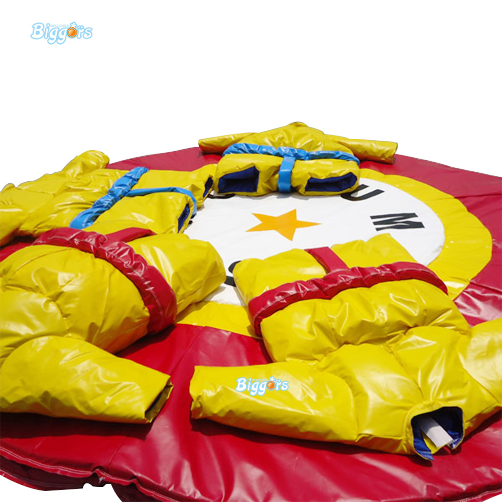 цена Free Shipping Adults Kids Inflatabel Sumo Costumes Inflatable Sumo Suits For Sports Games