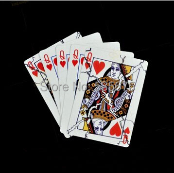 broken queen - magic trick,card magic,classic toys,magic prop,Free shipping