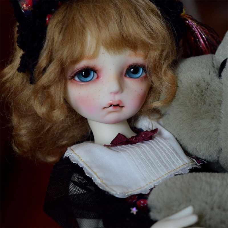 BJD doll OUENEIFS Colette open eyes and sleepy eyes