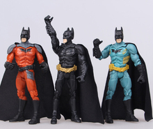 3pcs/set 14CM The Dark Knight Movie Batman Superhero Action Figure Toys Children's  Classic Collection Toys Boys Gift