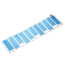 Ritmo de La Música de sonido Activado Car Stickers Ecualizador Resplandor de Luz LED Azul de Voz de Audio de Ritmo de La Lámpara