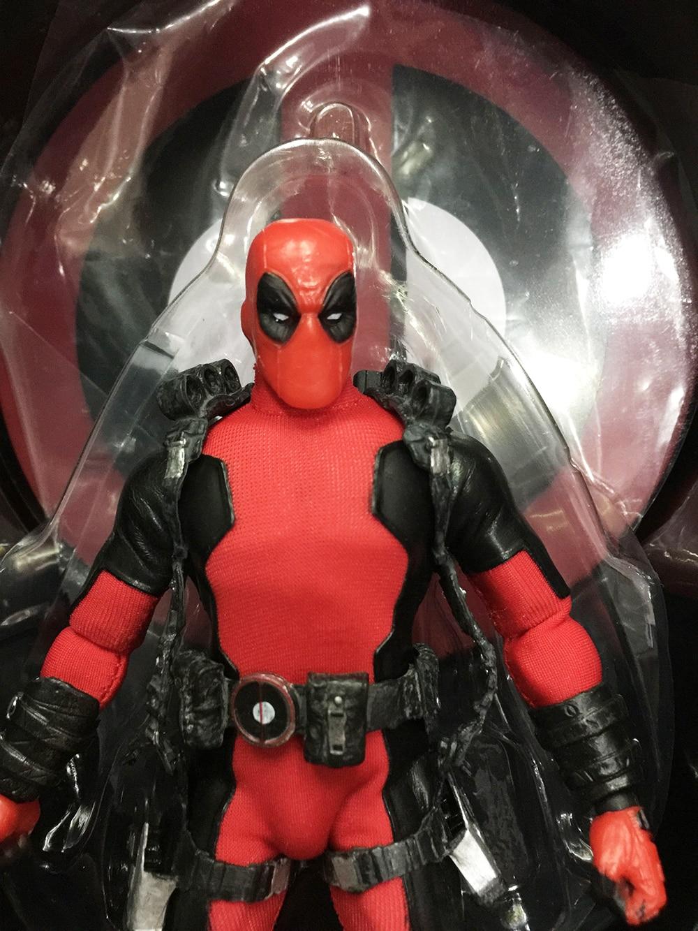 Marvel Super Hero Deadpool X-Men Mezco One 12 Action Figures Toys  (11)