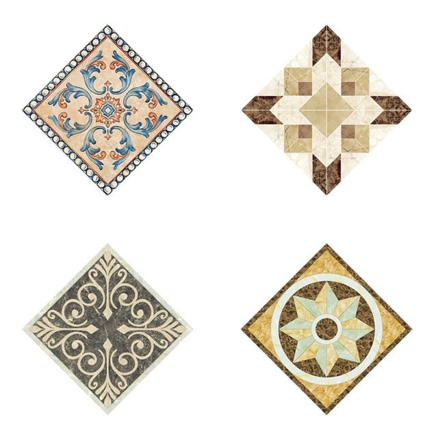 10pcs 8x812x12cm Diagonal Tile Seam Stickers Decorative Self