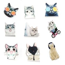 9314c1229b3b 1 PCS Cats Shaped Icons on Backpack Cartoon AcrylicBadges Decoration Pin  Badge Icon on Clothes