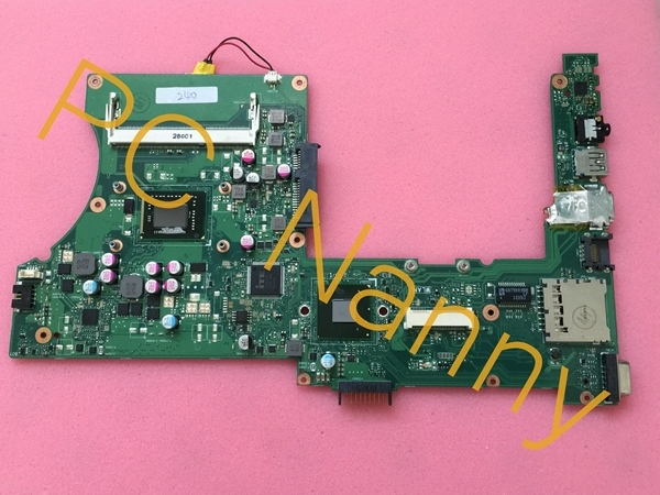 Laptop motherboard ASUS X401A REV 3.0 i3-2330M cpu onboard Intel HM76 Intel HD 3000 testado