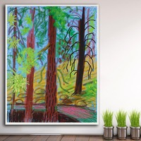 Fashion Oil Painting Landscape Untitled No. 6 Home Decor On Canvas Modern Wall Art Canvas Print Poster Canvas Painting No Frame