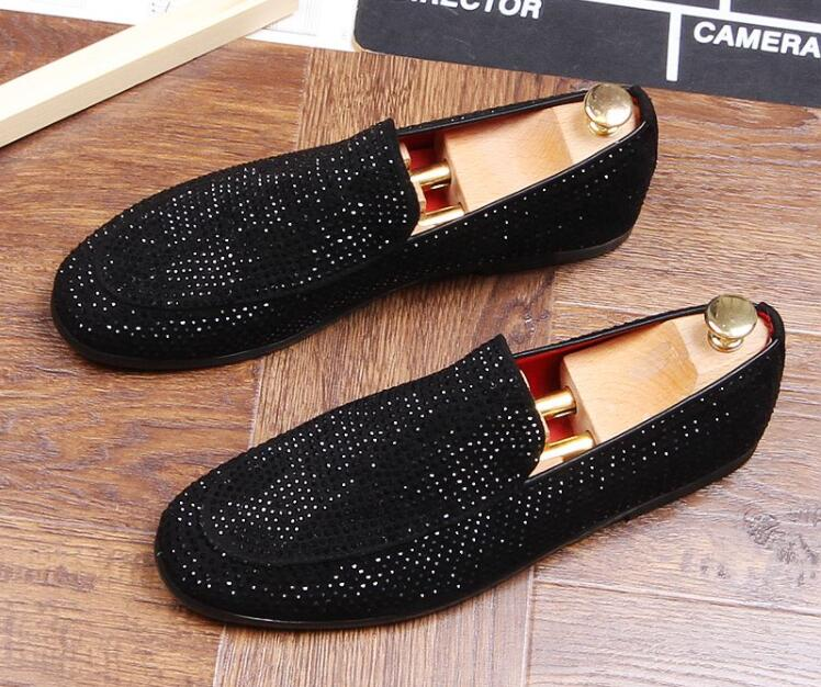 1 Éclat Designer 2019 Britannique Rock Strass Marque Hip Oxfords 2 De Robe Pointu Mariage Chaussures Hop Formelle Bal 5B0xqTqnwt