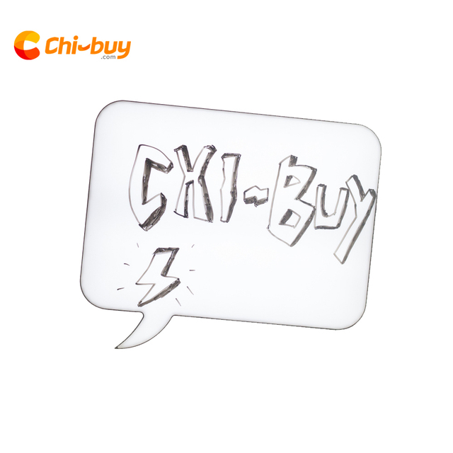 Chi-buy Creative Speech Bubble Note Handwritten Light Box DIY Drawing Message board Cinema Lightbox LED Kitchen Home Decor Gift