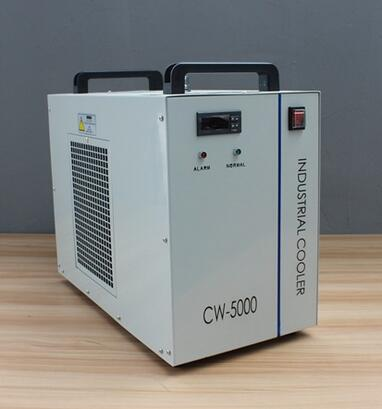 220V water chiller CW5000 for laser tube spindles ZuRong