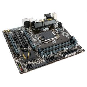 Image 2 - Gigabyte GA B150M D3H B150M D3H B150 Desktop Motherboard LGA 1151 Core i7 i5 i3 DDR4 64G SATA3 USB3.0 M.2 Micro ATX DVI VGA HDMI