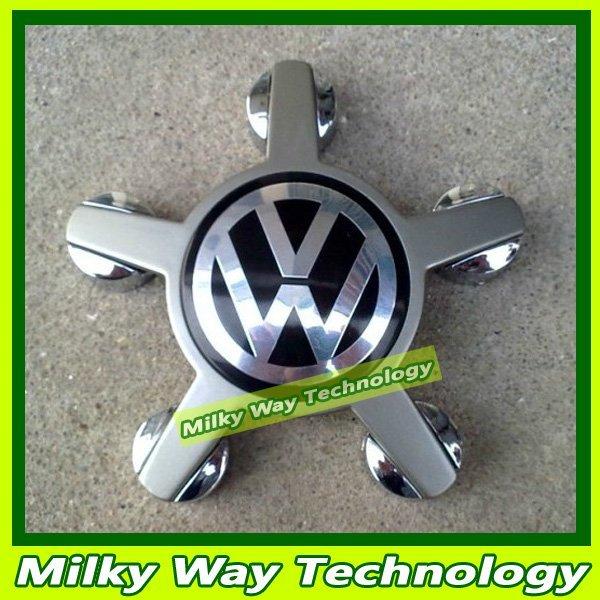 Free shipping Wheel Center Cap Hub Cap Cover for VW Golf  Passat B6 Passat CC Eos GTI Tiguan Touran Routan 4pcs#LX06298