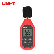 UNI-T UT353BT Bluetooth цифровой ЖК-Мини измеритель уровня звука шум аудио датчик объема децибел мониторинг тестер 30-130дб